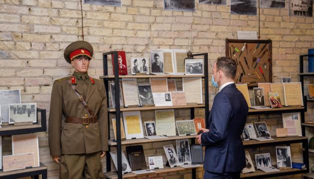 Донцов, Винниченко і Петлюра: у Лук'янівському СІЗО відкрили історичну експозицію