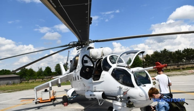 «Мотор Січ» сертифікувала виробництво металевих лопатей для вертольотів