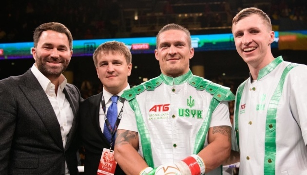 No obstacles to Usyk-Joshua fight – Usyk's promoter