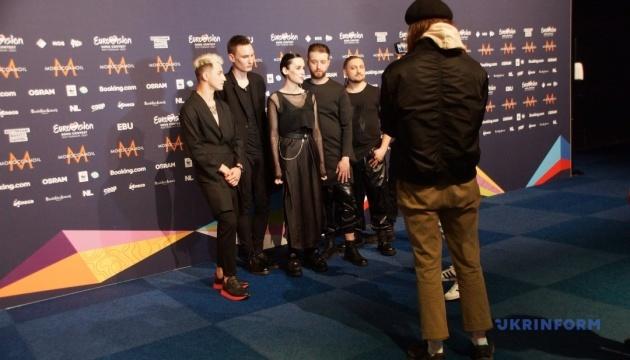 Гурт Go_A заспівав для шанувальників у пресцентрі Євробачення