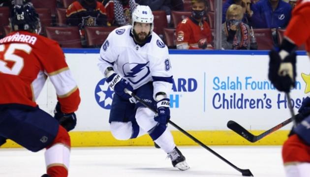 НХЛ: «Тампа-Бей» обіграв «Флориду» у другому матчі серії плей-офф Кубка Стенлі
