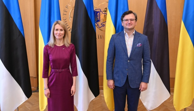 Кулеба обговорив з прем'єркою Естонії протидію агресії РФ та саміт Кримської платформи