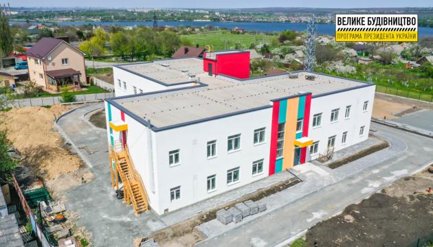 На Днепропетровщине строят новый двухэтажный детский сад
