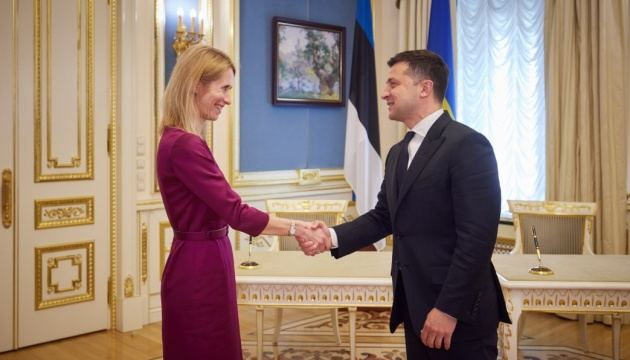 Estland bereit, künftigen EU-Beitritt der Ukraine zu unterstützen - Selenskyj und Kallas unterzeichnen Erklärung