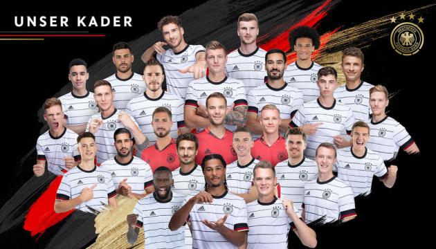 Збірна Німеччини з футболу оголосила склад на Євро-2020