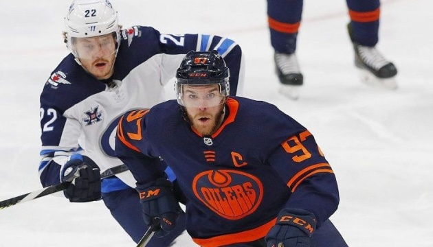 НХЛ: «Едмонтон» програв «Вінніпегу» на старті серії плей-офф Кубка Стенлі