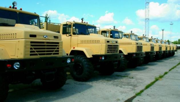 Autowerk von Krementschuk liefert LKW an US-Armee