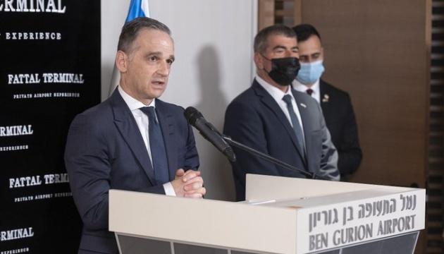 Маас считает удары Израиля по сектору Газа оправданными