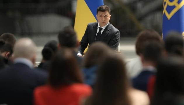 Зеленський називає своїм головним пріоритетом Україну без війни