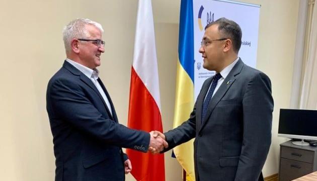 Голова українців у Польщі обговорив з представником МЗС України двосторонню співпрацю