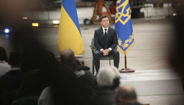 Ситуация на востоке Украины может стать вопросом референдума - Зеленский