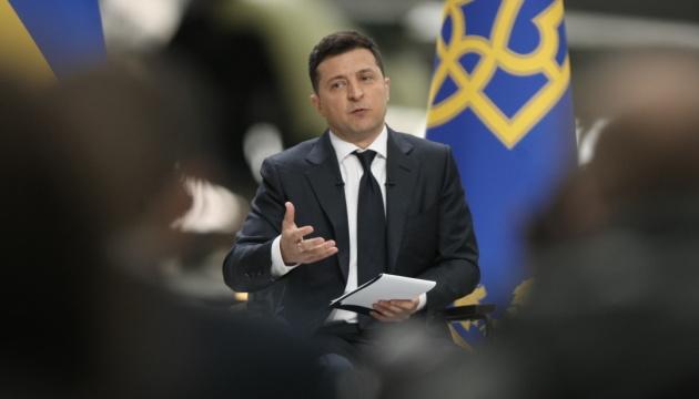 Зеленський заявив, що реакція Росії на тему України в НАТО схожа на дитячі нічні страхи про шафу