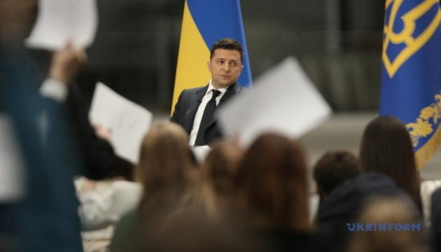 Зеленський заявив, що зарано говорити про другий термін