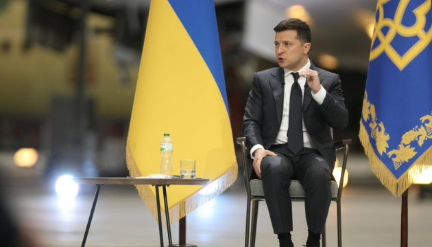 Zelensky compares Biden's decision on Nord Stream 2 with Michael Jordan's play