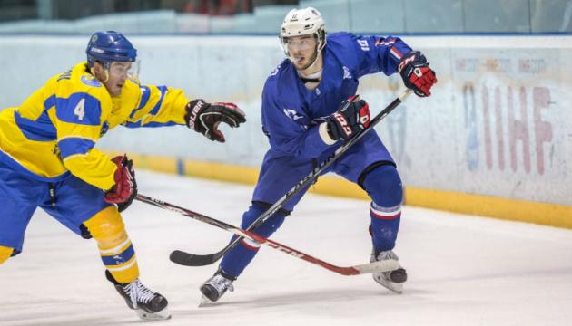 Збірна України програла французам на міжнародному турнірі з хокею в Словенії
