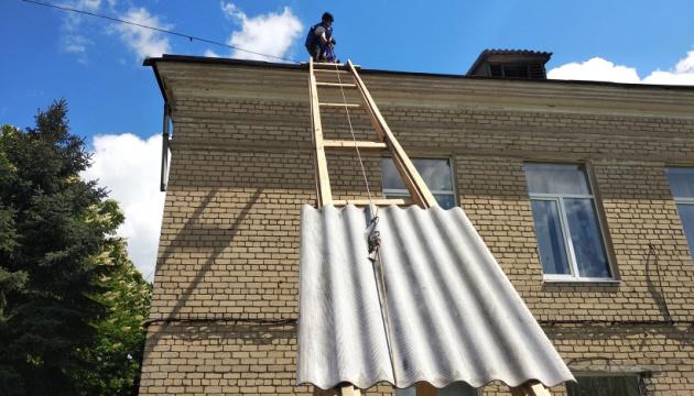 На Донеччині цьогоріч вже відремонтували 280 пошкоджених обстрілами будинків
