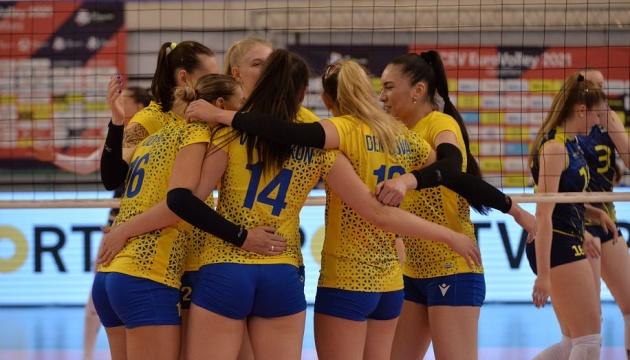 Українські волейболістки дізналась суперниць на Євро-2021
