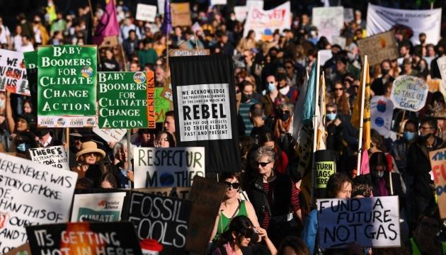 В Австралії тисячі школярів вийшли на екодемонстрації