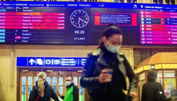 У Фінляндії скасували майже всі пасажирські потяги через страйк машиністів