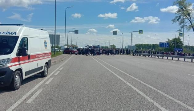 На Житомирщині перекрили трасу Київ-Чоп через земельне питання