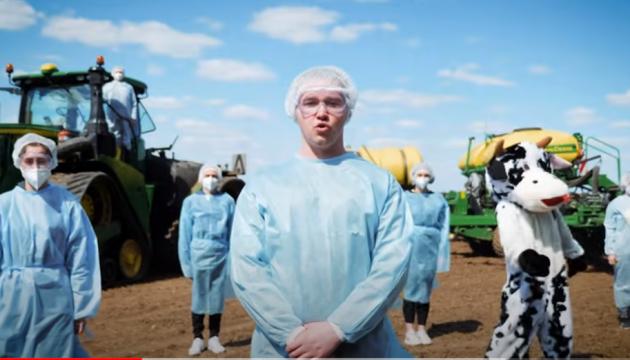 """""""Hymne der Saatkampagne"""": Lustige Coverversion von Song des ukrainischen ESC-Teilnehmers"""