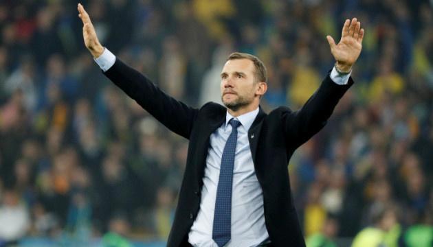 Павелко: є опція продовження контракту Шевченка до чемпіонату світу в Катарі