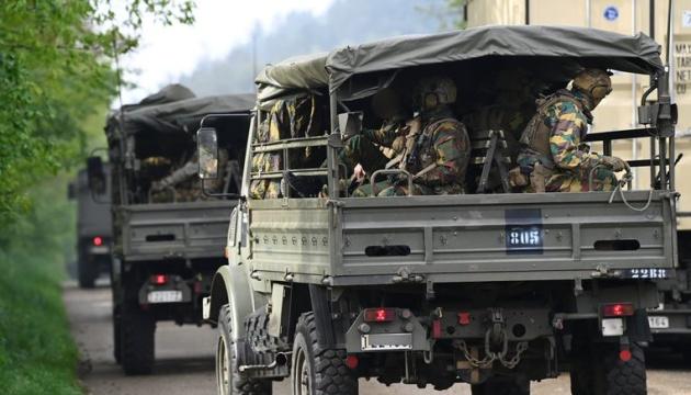 В Бельгии военный бежал с полигона, прихватив противотанковые ракеты и пулемет