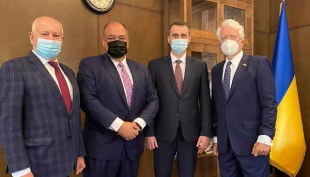 Перший робочий день: Ляшко обговорив з ексконгресменом США вакцинацію в Україні