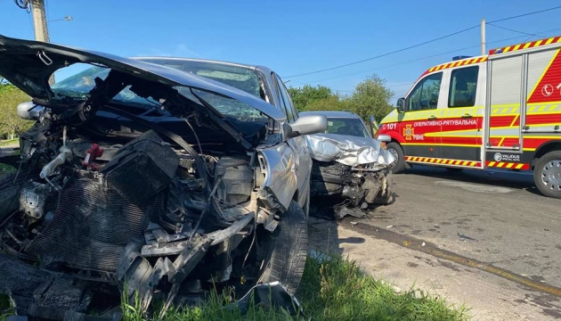 У Рівному три авто потрапили в ДТП, є постраждалі