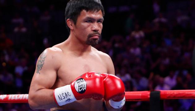 Пакьяо в серпні проведе бій із чемпіоном WBC і IBF Спенсом