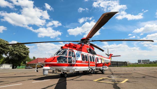 Українським рятувальникам передали шостий гелікоптер Airbus