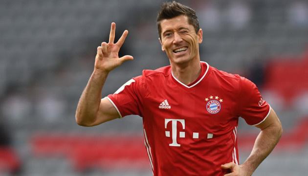 Левандовскі побив рекорд Мюллера по голам в Бундеслізі за сезон