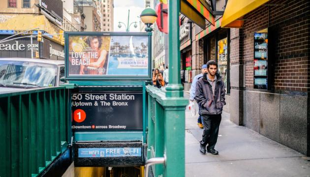 У нью-йоркському метро пропонують вакцинацію за семиденний проїзний