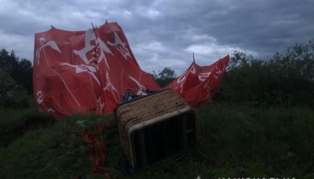 На Хмельниччині призупинили фестиваль з повітроплавання через падіння кулі