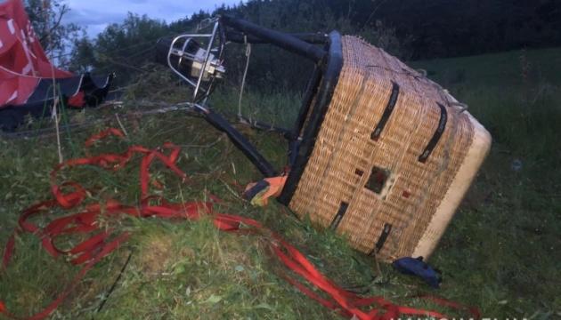 Падение воздушного шара на Хмельнитчине - в полиции рассказали детали