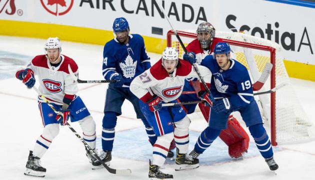 НХЛ: «Торонто» розгромив «Монреаль» і зрівняв рахунок в серії плей-офф Кубка Стенлі