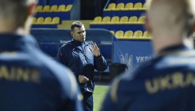 Андрій Шевченко оголосив стартовий склад збірної України на матч з футболістами Бахрейну
