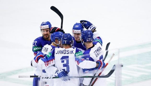 Словаки обіграли британців, закинувши найшвидшу шайбу на чемпіонаті світу-2021 з хокею