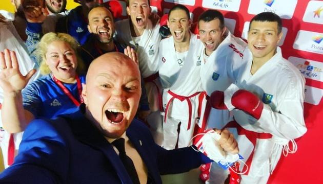 Україна виграла «бронзу» чемпіонату Європи з карате в командних змаганнях