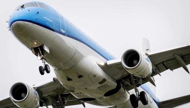 Нідерландська авіакомпанія KLM не бачить причин відмовлятися від польотів над Білоруссю