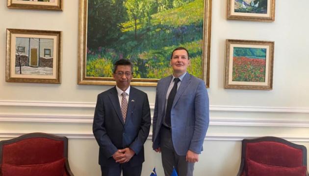 Yenin, Malaysian ambassador discuss opening of ASEAN Center in Kyiv