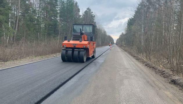 Дорогу в Чернобыль обновили за несколько недель