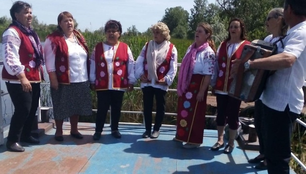 У Румунії українці провели захід «Зустріч із синами села – українські традиції та звичаї»