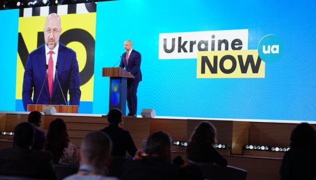 """""""Ukraina 30. Ziemia"""" - Szmyhal otworzył drugi dzień forum"""