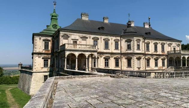 На реставрацію трьох замків на Львівщині виділять понад 128 мільйонів