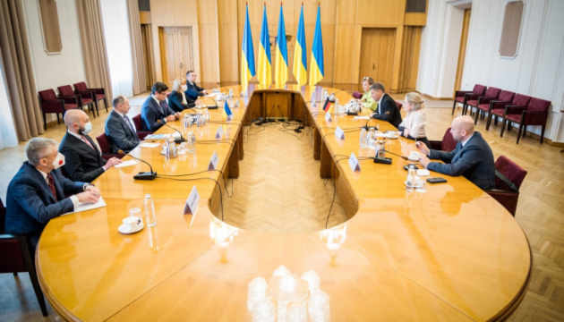 Kuleba, Habeck discuss negative impact of Nord Stream 2 on security in Europe