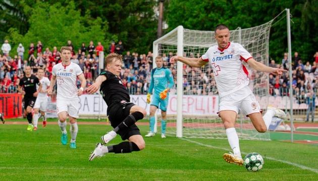 Перша ліга: «Верес» у Луцьку програв «Волині»