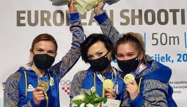 Україна виборола «золото» у командній стрільбі на чемпіонаті Європи