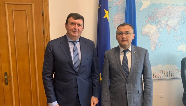 Bodnar, Serbian ambassador discuss preparation of political consultations at Foreign Ministry level