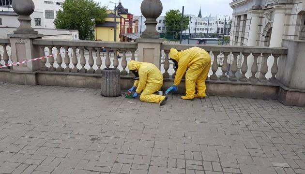 На железнодорожном вокзале Львова обнаружили более полулитра ртути